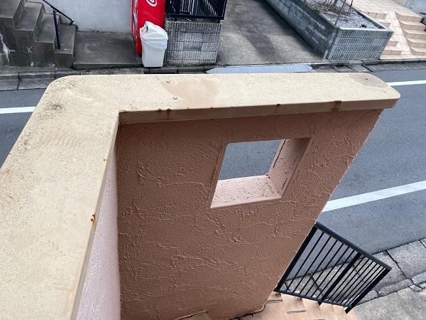 東京都世田谷区 外壁塗装・屋根葺き替え工事・付帯部塗装 下地処理 ケレン作業