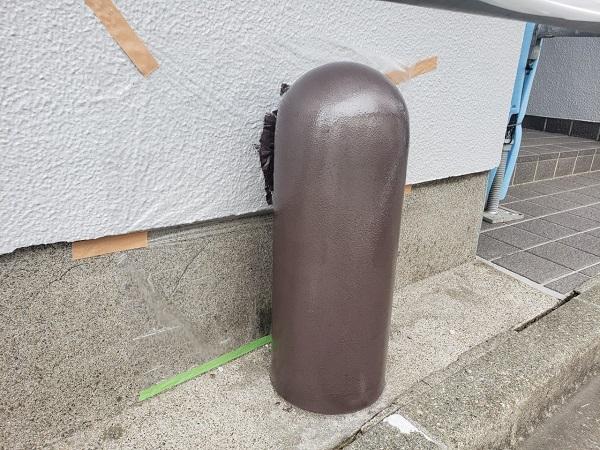 東京都世田谷区 外壁塗装・屋根塗装・防水工事 付帯部塗装 鼻隠し 階段 雨樋 (11)