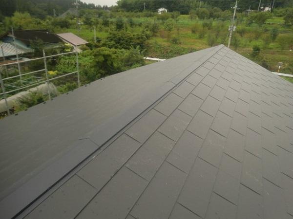 東京都杉並区 屋根葺き替え工事 瓦屋根からガルバリウム鋼板へ (3)