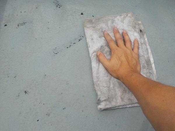 東京都世田谷区 外壁塗装・屋根塗装・防水工事 FRP防水 (5)