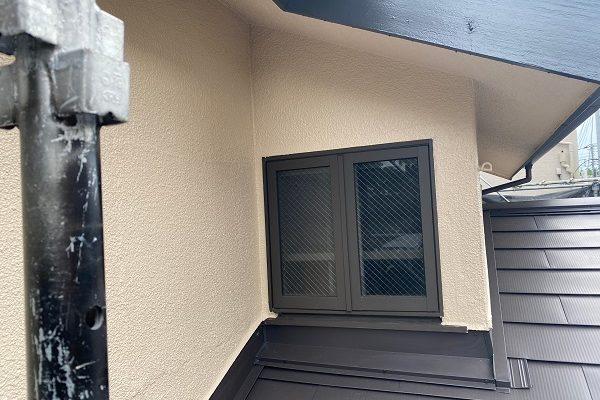 東京都杉並区 下屋葺き替え工事 外壁塗装 雨樋交換 バイオ洗浄 (11)
