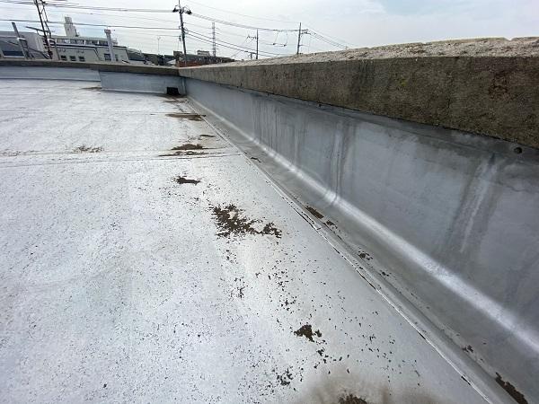 東京都杉並区 防水工事 雨漏り 陸屋根とは 防水工事の種類について (4)