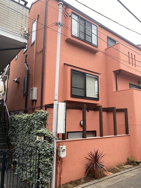 東京都世田谷区 外壁塗装・屋根葺き替え工事・付帯部塗装 完工 定期訪問サポート (2)