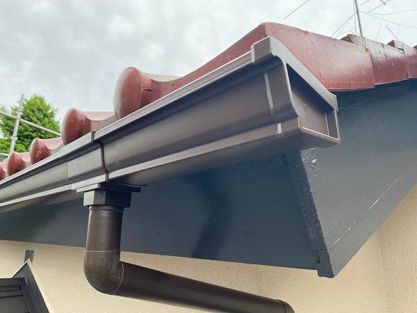 東京都杉並区 下屋葺き替え工事 外壁塗装 雨樋交換 雨樋の役割 全交換