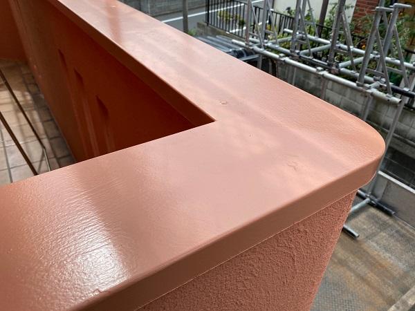 東京都世田谷区 外壁塗装・屋根葺き替え工事・付帯部塗装 手すり塗装 (1)