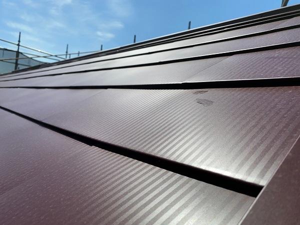 東京都世田谷区 外壁塗装・屋根葺き替え工事・付帯部塗装 ガルバリウム鋼板 (1)