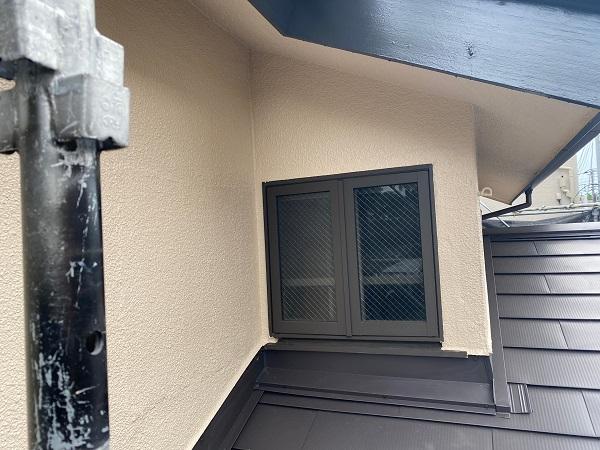 東京都杉並区 下屋葺き替え工事 外壁塗装 雨樋交換 完工 定期訪問サポート (1)