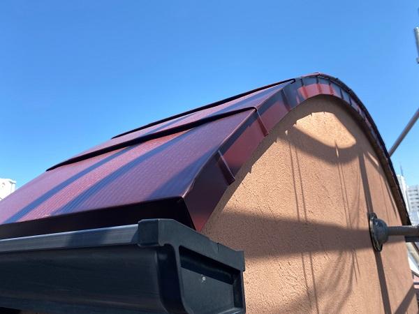 東京都世田谷区 外壁塗装・屋根葺き替え工事・付帯部塗装 ガルバリウム鋼板 (5)