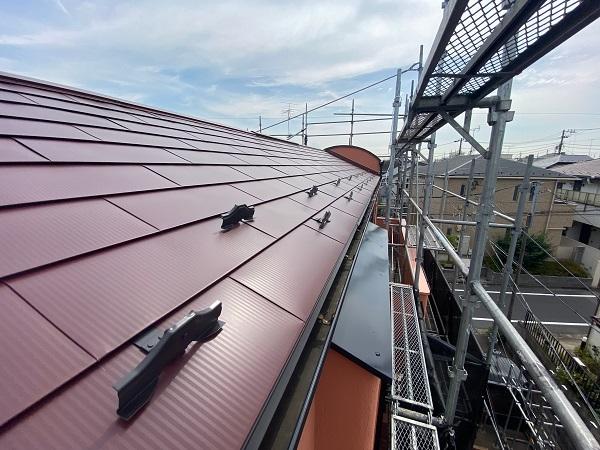 東京都世田谷区 外壁塗装・屋根葺き替え工事・付帯部塗装 ガルバリウム鋼板 (7)