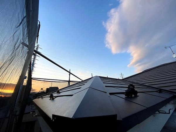 東京都世田谷区 屋根カバー工法(重ね葺き工事) (3)