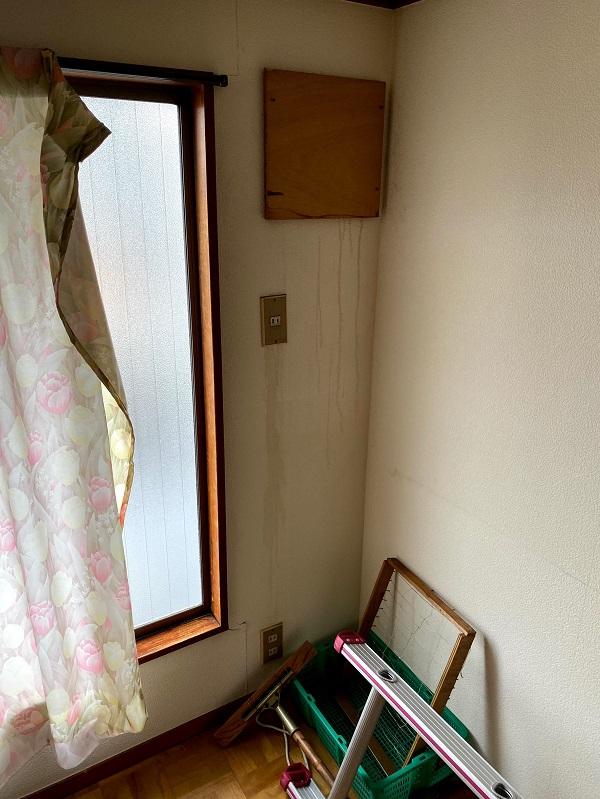 東京都世田谷区 屋根葺き替え工事・外壁塗装・付帯部塗装 事前調査 雨漏り (2)