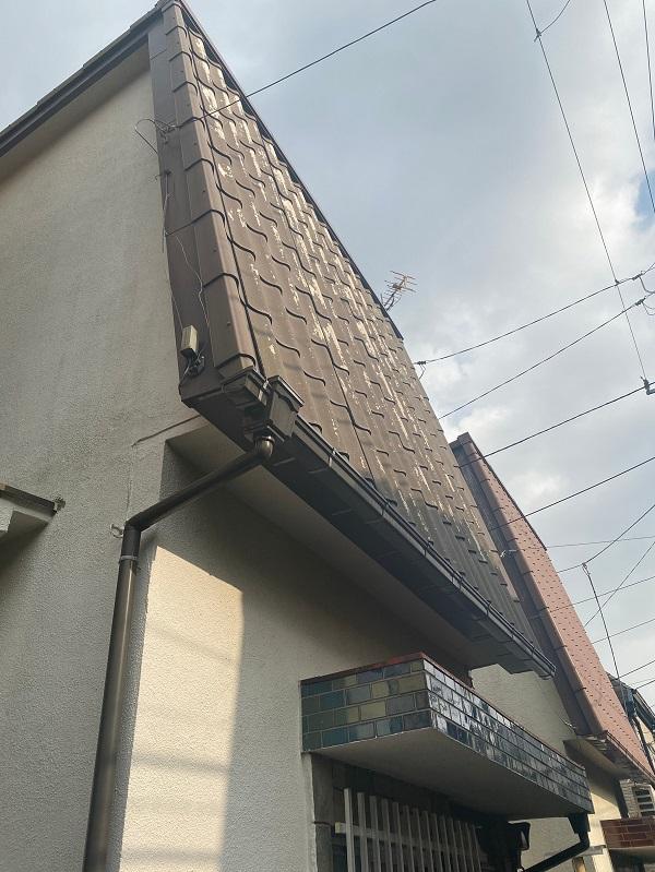 東京都中野区 Y様邸 屋根葺き替え工事 (2)
