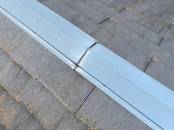 東京都杉並区 屋根カバー工法(重ね葺き工事)・コーキング工事 屋根材の劣化 屋根のリフォーム方法 (1)