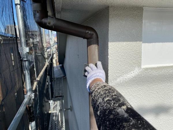 東京都世田谷区 屋根葺き替え工事・外壁塗装・付帯部塗装 ケレン作業とは 3種ケレンの工程 (1)