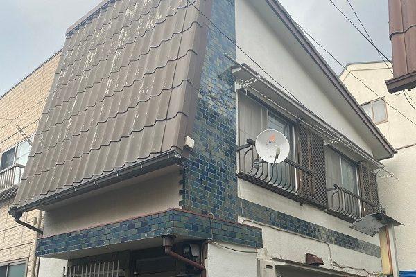 東京都中野区 屋根葺き替え工事 施工前の屋根の状態 無料調査 屋根のリフォーム方法 (2)