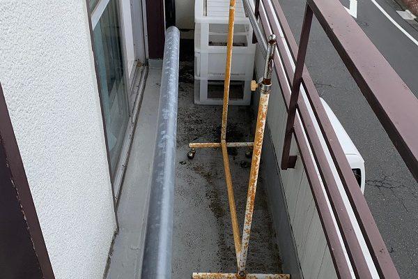 東京都中野区 S様邸 ベランダ防水工事 軒天材交換 (9)