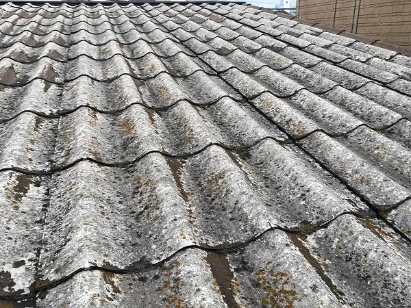 東京都中野区 屋根葺き替え工事 施工前の屋根の状態 無料調査 屋根のリフォーム方法 (3)