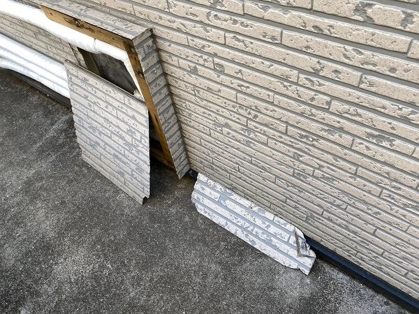 東京都世田谷区 屋根葺き替え工事・外壁塗装・付帯部塗装 事前調査 雨漏り (1)