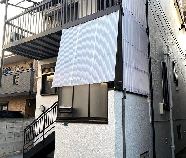 東京都世田谷区 屋根葺き替え工事・外壁塗装・付帯部塗装 モルタル外壁 水谷ペイント ナノコンポジットW (2)