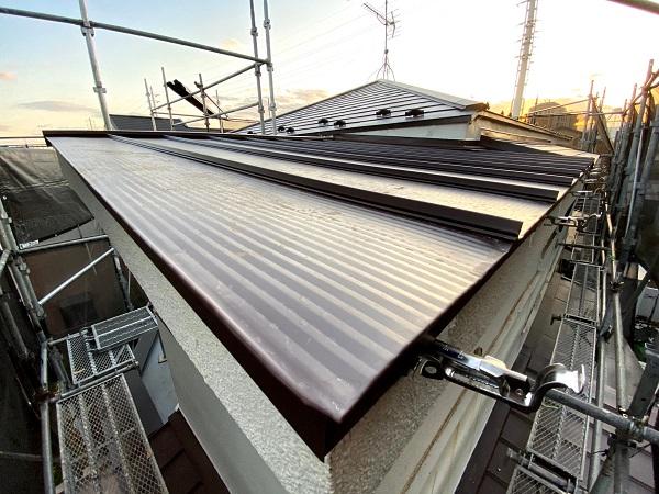 東京都世田谷区 屋根カバー工法(重ね葺き工事) (5)