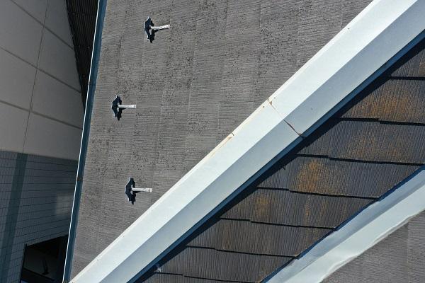 東京都中野区 屋根塗装 現場調査② カビの恐ろしさ 急勾配の屋根3