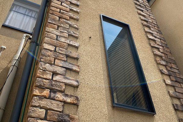東京都世田谷区 外壁・屋根塗装等外装リフォーム 雨漏り調査 外壁のカビや苔 コーキングの劣化 (1)