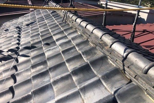 東京都中野区 H様邸 瓦屋根・漆喰工事 瓦屋根のメンテナンスの重要性 雨漏りの恐ろしさ (1)