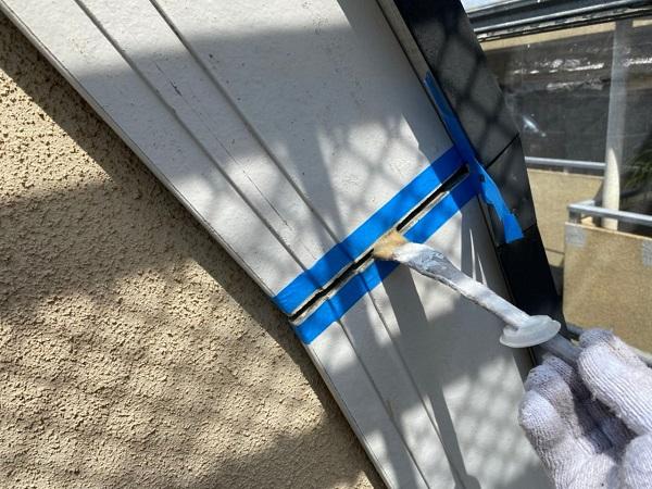 東京都世田谷区 外壁・屋根塗装等外装リフォーム シーリング工事 ひび割れ(クラック)補修 (3)