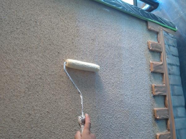 東京都世田谷区 外壁・屋根塗装等外装リフォーム 日本ペイント パーフェクトトップ パーフェクトフィラー (2)