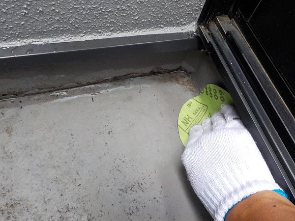 東京都世田谷区 外壁・屋根塗装等外装リフォーム ウレタン防水工事 (7)
