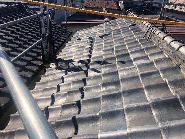 東京都中野区 H様邸 瓦屋根・漆喰工事 瓦屋根のメンテナンスの重要性 雨漏りの恐ろしさ (2)