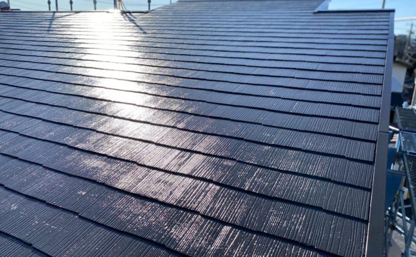 東京都練馬区 K様邸 屋根塗装 ブロック塀塗装 日本ペイント ラジカル制御型塗料 パーフェクトトップ (4)