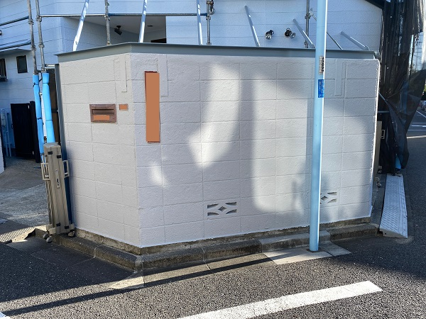 東京都練馬区 K様邸 屋根塗装 ブロック塀塗装の工程 日本ペイント パーフェクトトップ (3)