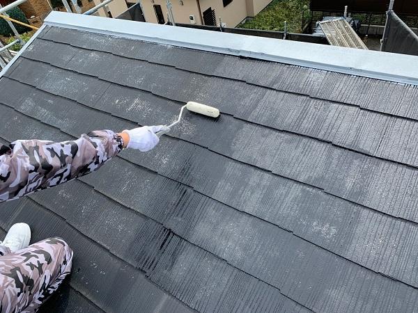 東京都練馬区 K様邸 屋根塗装 下塗りの重要な役割 手抜き業者の施工について (2)