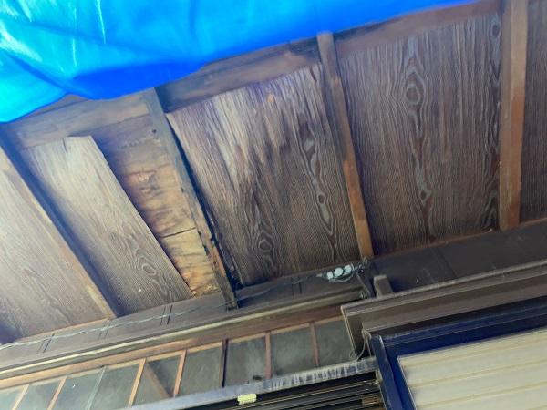 東京都豊島区 T様邸 屋根葺き替え工事 雨漏り 瓦棒屋根 施工前② (4)