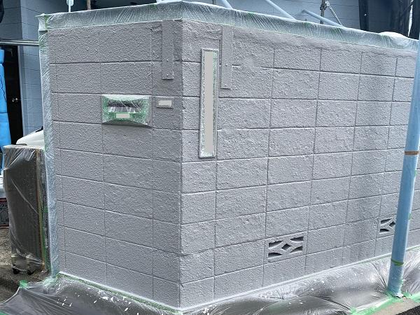 東京都練馬区 K様邸 屋根塗装 ブロック塀塗装の工程 日本ペイント パーフェクトトップ (2)