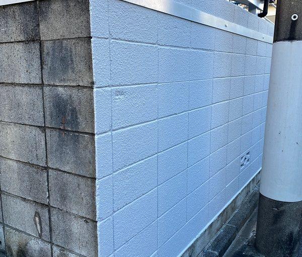 東京都練馬区 K様邸 屋根塗装 ブロック塀塗装の工程 日本ペイント パーフェクトトップ (4)