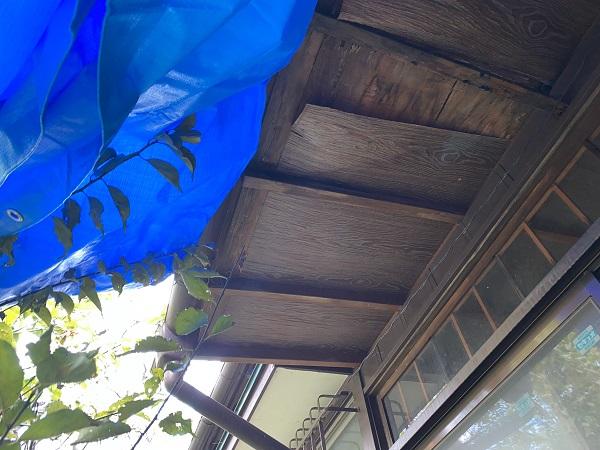 東京都豊島区 T様邸 屋根葺き替え工事 雨漏り 瓦棒屋根 施工前② (3)