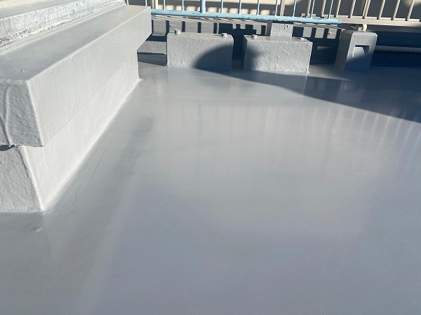 東京都世田谷区 Mビル 防水工事 施工方法の種類 ウレタン防水とは (2)