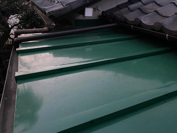 東京都豊島区 T様邸 屋根葺き替え工事 雨樋部分交換 軒天交換 (2)
