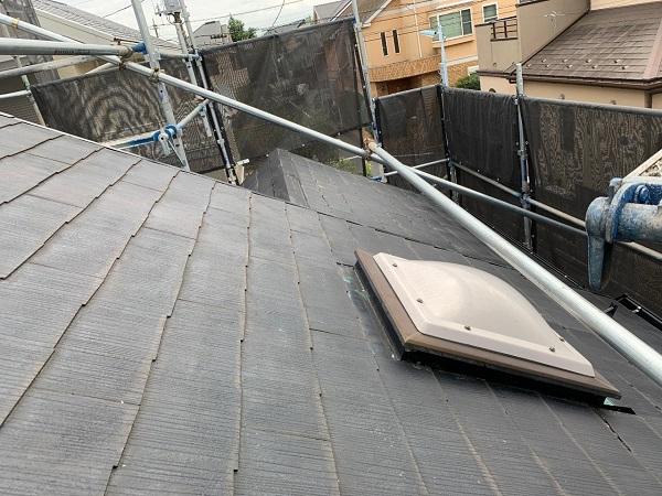 東京都練馬区 K様邸 屋根塗装 ブロック塀塗装 天窓改修工事 シーリング
