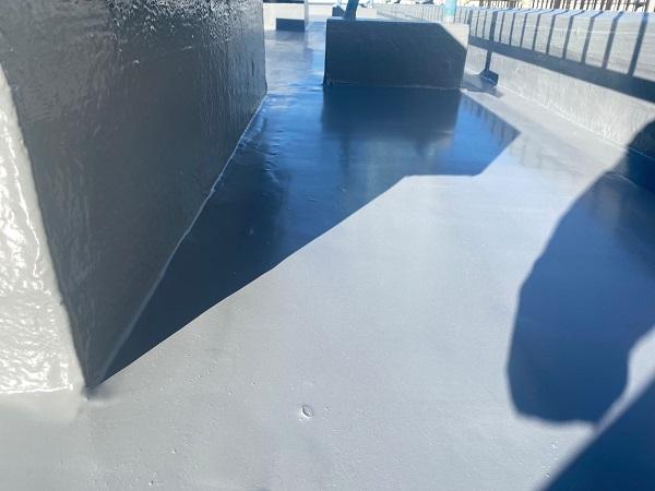 東京都世田谷区 Mビル 防水工事 施工方法の種類 ウレタン防水とは (4)
