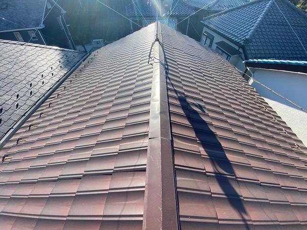 東京都大田区 N様邸 屋根塗装 無料診断 金属瓦とは (1)