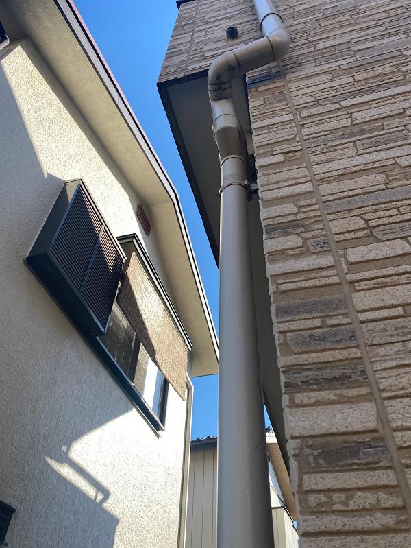 東京都中野区 K様邸 雨樋補修 雨樋の場所による名称 雨樋の役割 (1)