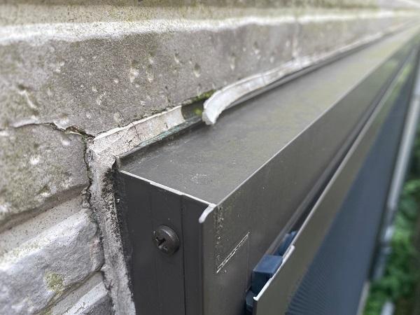 東京都品川区 I様邸 外壁塗装 無料現場調査 写真付き外壁の劣化症状 (14)