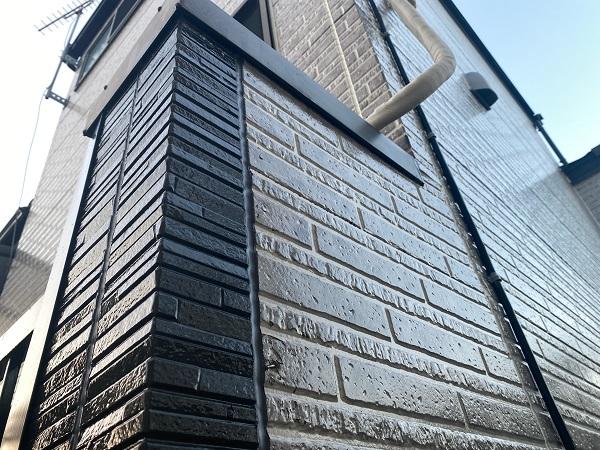 東京都品川区 I様邸 外壁塗装 ペンキと塗料の違い クリア塗料 定期訪問サポート (1)