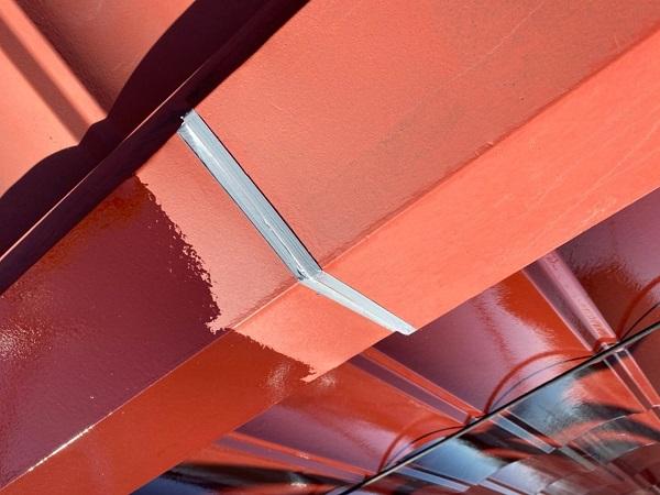東京都大田区 N様邸 屋根塗装 下塗り 日本ぺイント ハイポンファインプライマーII (1)
