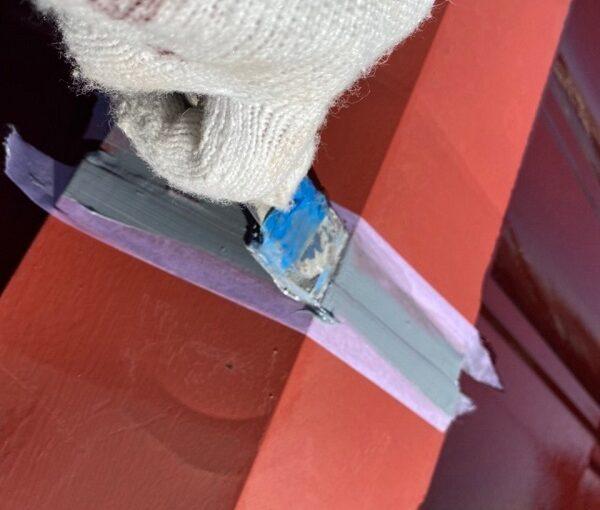 東京都大田区 N様邸 屋根塗装 下塗り 日本ぺイント ハイポンファインプライマーII (2)