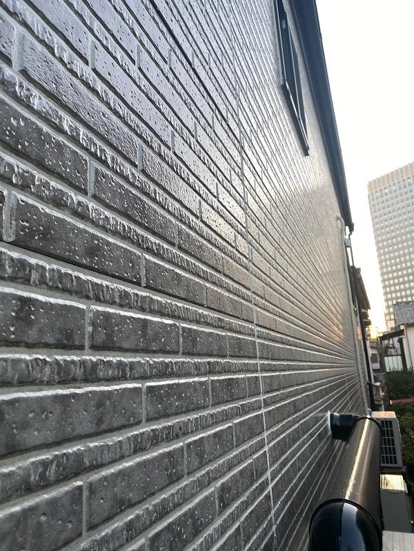 東京都品川区 I様邸 外壁塗装 ペンキと塗料の違い クリア塗料 定期訪問サポート (2)