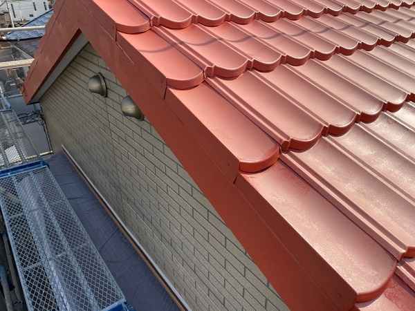 東京都大田区 N様邸 屋根塗装 下塗り 日本ぺイント ハイポンファインプライマーII (7)